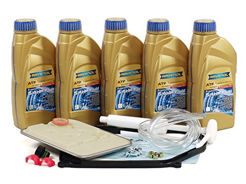 Blau F2A1011 Automatic Transmission Fluid Filter Kit - Compatible with 1995-03 VW Eurovan w/ 4 Speed ()