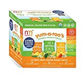 NurturMe Yum-A-Roo's Organic Toddler Snacks (0.25 oz.,15 ct.) (pack of 2)