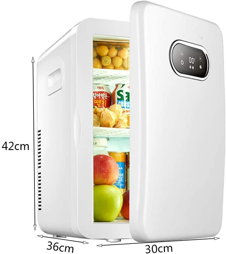 Bhdyhm Desk Refrigerator Mini Fridge Small Office Covers Portable Cooler Iceless Electric Cooler With Cooling Technology Up 20l Car Refrigerator Compact Cooler Warmer Portable Electronic Amazon Co Uk Kitchen Home