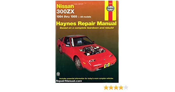h72010 haynes nissan 300zx 1984 1989 auto repair manual rh amazon com Nissan Serena Manual 1995 Nissan 300ZX Red