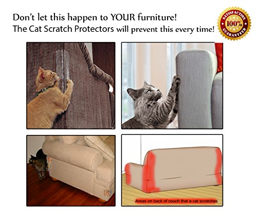 Cat Scratch Protection On Any Couch Sofa Or Chair Works For Leather And  Upholstered