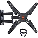 ECHOGEAR Full Motion TV Wall Mount Bracket for 26-55 Inch TVs - Extend, Tilt and Swivel Your TV - Easy Single Stud Install