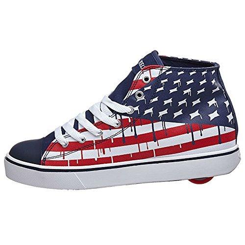 Heelys Boy's Hustle American Flag (Little Kid/Big Kid/Adu...