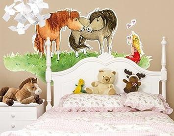 Wandtattoo Liese Und Lotte Arena Verlag Kinderzimmer Pferde Pony Märchen
