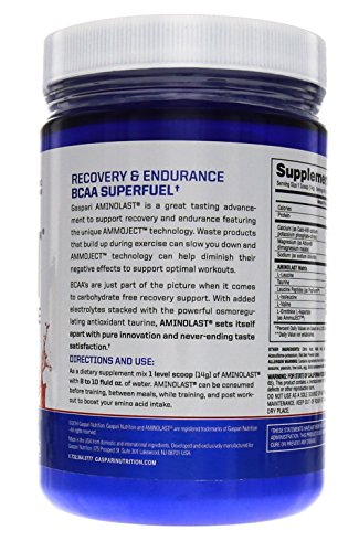Gaspari Nutrition Aminolast Powder Supplyment