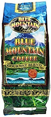 Blue Mountain Hawaiian Gold Kona Coffee Whole Bean 10 Oz by Blue Mountain