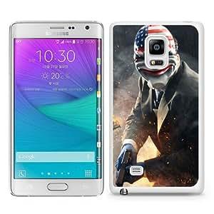 Popular Samsung Galaxy Note Edge Cover Case ,Payday Dallas Heist Art White Samsung Galaxy Note Edge Case Hot Sale And Unique Designed Phone Case