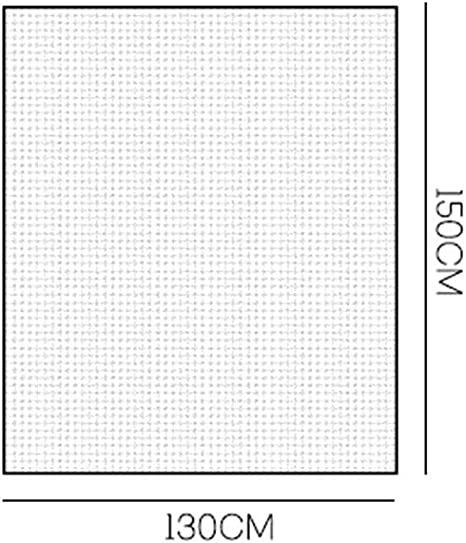 150 cm Lispeed Pantalla contra Insectos Puerta corredera Mosquitera Cortina Louvre Cortina mosquitera Puerta 130 cm