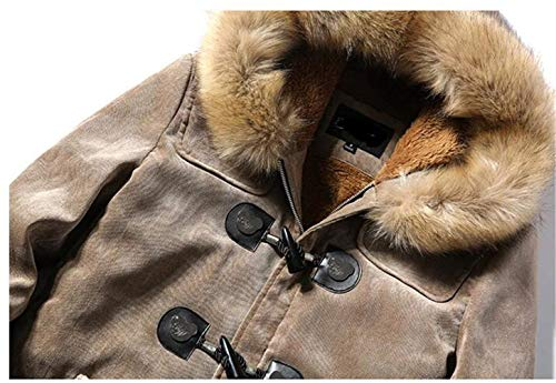 Thicker Plez Warm Jacket Mens Parka Hooded Coat Boys Womens Jackets Winter Hooded Winter Men's New Coat Jacket Hooded Thickened Ntel 2017 Khaki Apparel gqOAInw