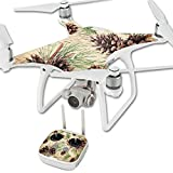 MightySkins Skin for DJI Phantom 4 Quadcopter Drone – Pine Collage | Protective, Durable, and Unique Vinyl Decal wrap Cover | Easy to Apply, Remove, and Change Styles | Made in The USA