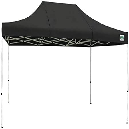 Amazon Com Caravan Canopy 10 X 15 Feet Classic Basic Canopy Kit Black Outdoor Canopies Garden Outdoor