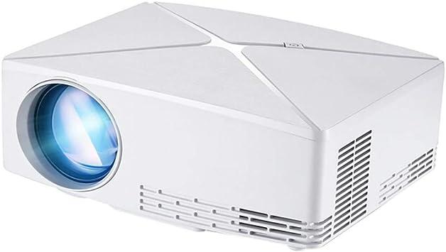 MaNMaNing 1080P YG520 Proyector LED Portátil para el Hogar USB ...