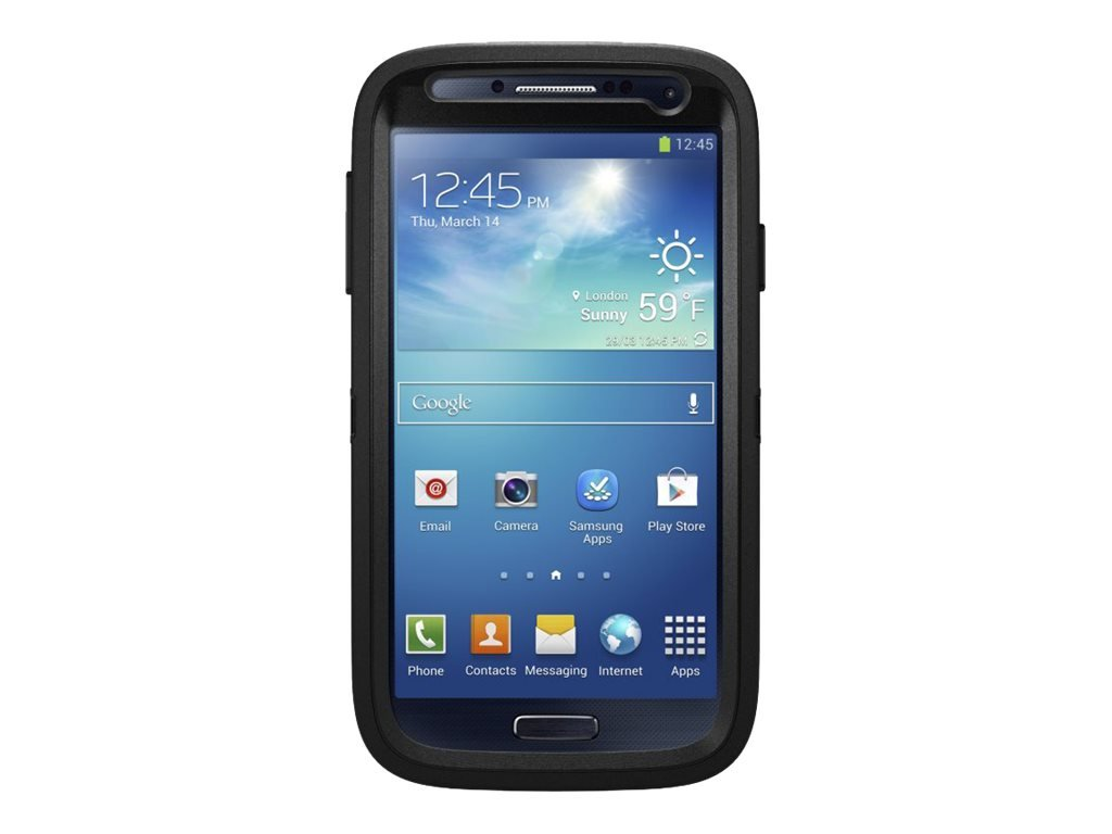 Samsung Galaxy S4 Case Otterbox Defender Series Zoom Black Cell Phones Accessories