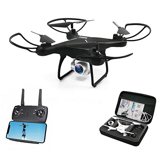 Xianxian88 Drone de Control Remoto FPV, Drone de cámara 1080P HD ...