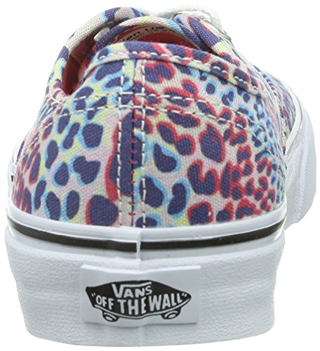 Multi Zapatillas Schwarz U Washed True White Authentic Noir Vans unisex t0PFw