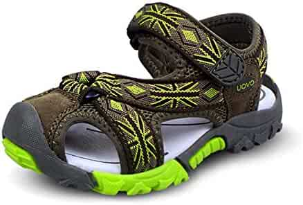 52978f432da3 Boys Sandals Closed Toe Strap Anti-collision Outdoor Athletic Shoes for  (Little Kid
