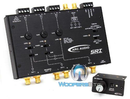 SRI - Arc Audio 6-Channel Signal Summing Module with Advanced High Impedance Balance Inputs
