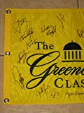 2018 Greenbrier Classic Tournament PGA Golf Flag signed by 22 -