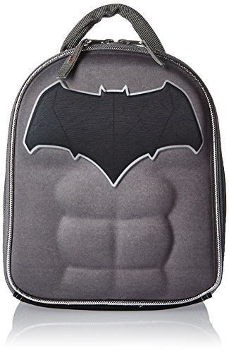 Shaped Lunch - Lil' Diner DC Comics Batman Chest-Shaped Lunch Bag