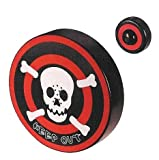 : Pirate Skull and Crossbones Keep Out Bedroom Doorbell by Toysmith