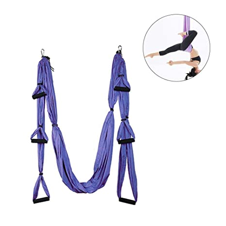 H-ONG Yoga Hammock Yoga Swing/Sling/Inversion Trapeze Tool ...