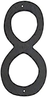 product image for Montague Metal Products Textured Font Individual House Number, 8, 10-Inch