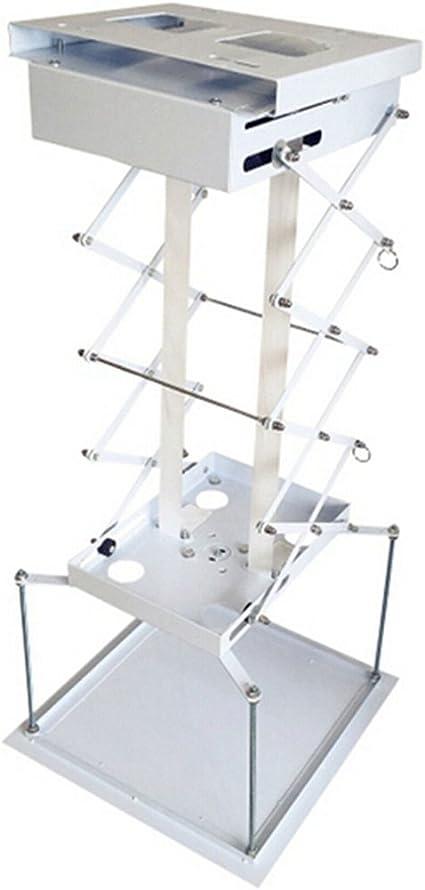 MXBAOHENG 70 cm eléctrico motorizado proyector Soporte de Techo ...