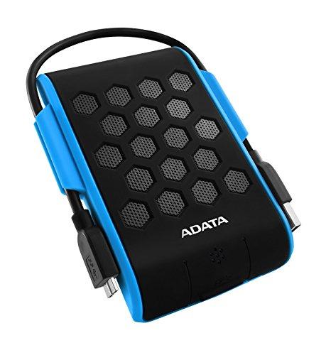 ADATA HD720 2TB USB 3.0 Waterproof/Dustproof/Shock-Resistant External Hard Drive, Blue (AHD720-2TU3-CBL) ()