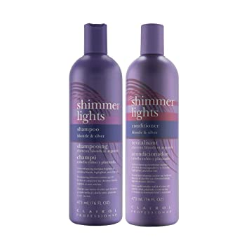 Clairol Shimmer Lights 16 oz  Shampoo + 16 oz  Conditioner (Combo Deal)