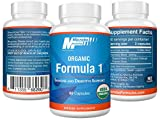 Intestinal Support- Microbe Formulas Organic Formula 1 - 60 Capsules - Organic Supplement - Dietary Supplement - Ayurvedic Medicine - Intestinal Detoxification - Healthy Intestinal Tract