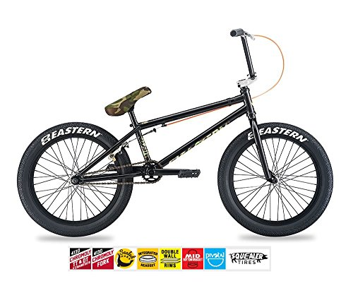 EASTERN NAGAS BMX BIKE 2017 BICYCLE BLACK AND CAMO
