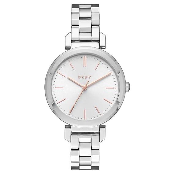 DKNY Reloj Analogico para Mujer de Cuarzo con Correa en Acero Inoxidable NY2582