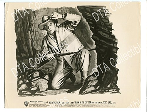 (MOVIE PHOTO: THIS IS MY LIFE-8X10 PROMO STILL-1954-ROBERT MITCHUM-WESTERN-BASED ON VG/FN)