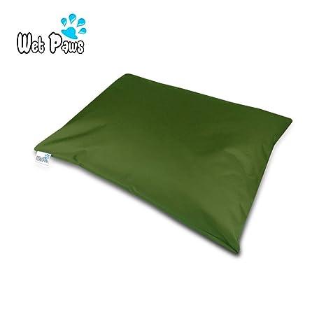 Wet patas | mediano rectangular impermeable cama para perro ortopédico | memoria relleno de espuma |