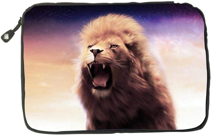 Electronic Accessories Travel Bag Lion King Painting USB Flash Drive Case Bag Wallet SD Memory Cards Cable Organizer
