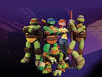 Teenage Mutant Ninja Turtles Donatello Michaelangelo ...