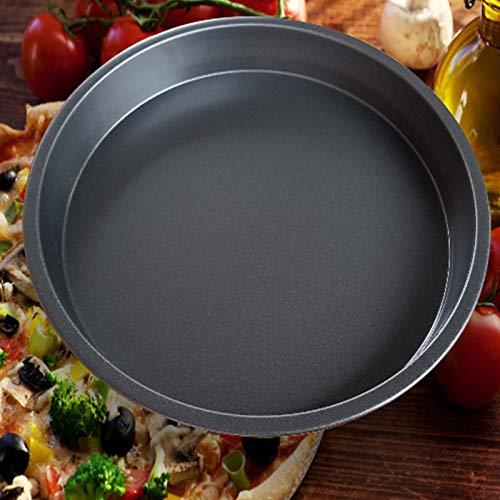 2 UNIDS Antiadherente Pizza Pan Horno Bandejas para Hornear ...