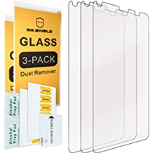 [3-PACK]- Mr Shield For Kyocera Hydro Reach / Hydro View [Tempered Glass] Screen Protector [0.3mm Ultra Thin 9H Hardness 2.5D Round Edge] with Lifetime Replacement Warranty