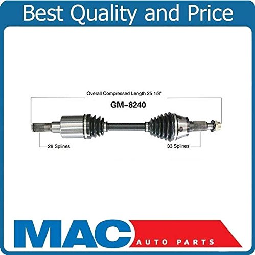 New CV Drive Axle Shaft Fits Hummer H3, H3T 2006-10 Front Left or Right