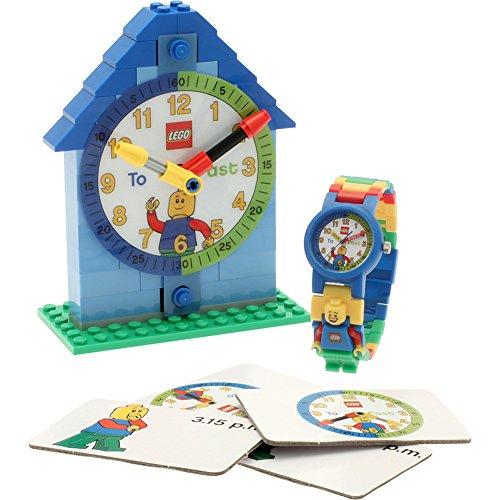 LEGO Watches Time-Teacher Minifigure Watch & Clock