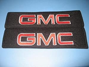 GMC Seat Belt Cover Shoulder Pad one pair by S