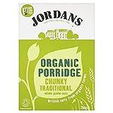Jordans - Organic Porridge Chunky Traditional Jumbo Oats - 750g (Pack of 2)