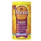 Metamucil Psyllium Fiber Supplement by Meta Pink Lemonade Smooth Sugar Free Powder 114 Doses, 24.1 Ounce.