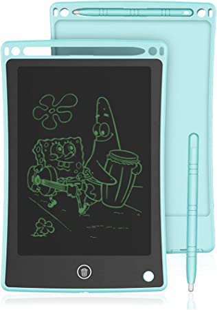 Feeling-one LCD Writing Tablet 8.5-Inch Writing Board Doodle Board Electronic Doodle Pads Drawing Board Gift for Kids and Adults at Home,School Office