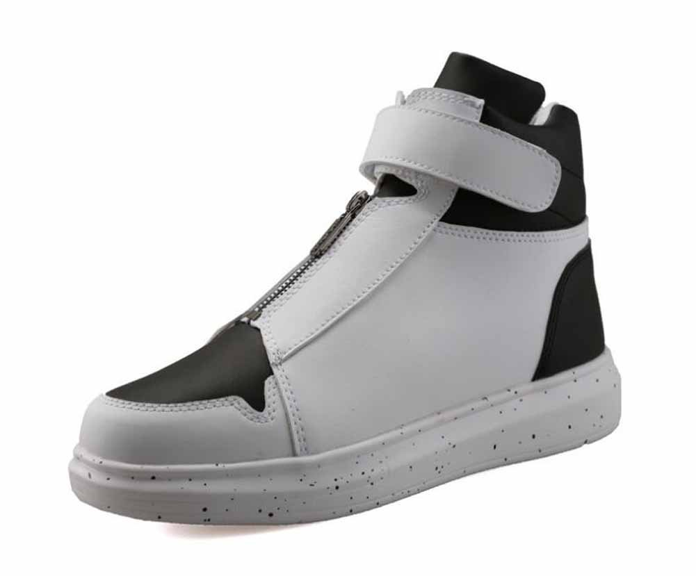 GLSHI Männer Leichte Turnschuhe New Fashion Casual Flache Schuhe Atmungsaktive Skateboard Schuhe