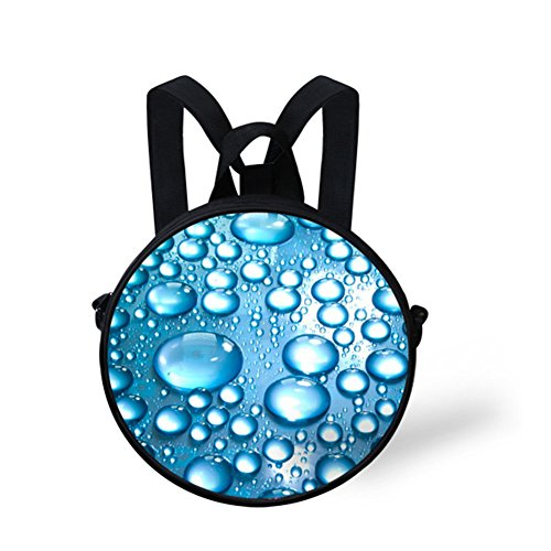 Backpack FancyPrint for Round Print for Girls W8cd0565i Animals Bag Circle Women TTSqBHw7