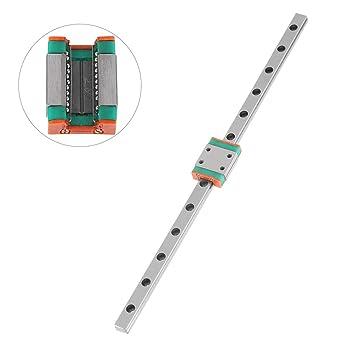 300mm Linear Sliding Rail Steel High Precision Miniature Guide Block