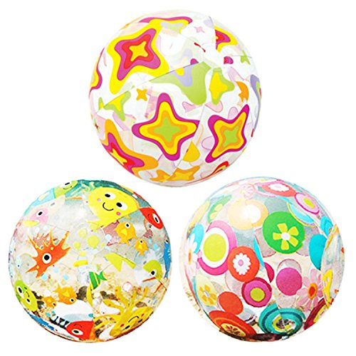 [Stars Fish Beach Ball Toy 2 Pcs Toys For Children Kids Swimming Summer Party Bouncing] (Puff The Green Dragon Dress)