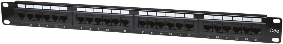 Intellinet Intellinet Cat5e Patch Panel 24-Port 1u Utp