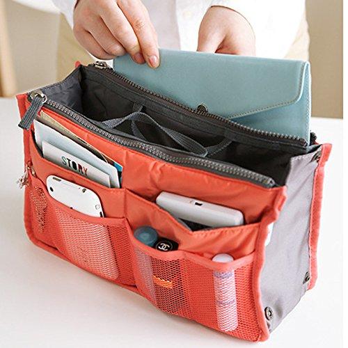 Sacchetto Centimetri 28 Rojo2 1 Per Di 5 Multifunzionale Immagazzinaggio Trucco 5 18 Accessori Web Smartrich Da Giallo 10 Viaggio Il Zw6BqnHd5